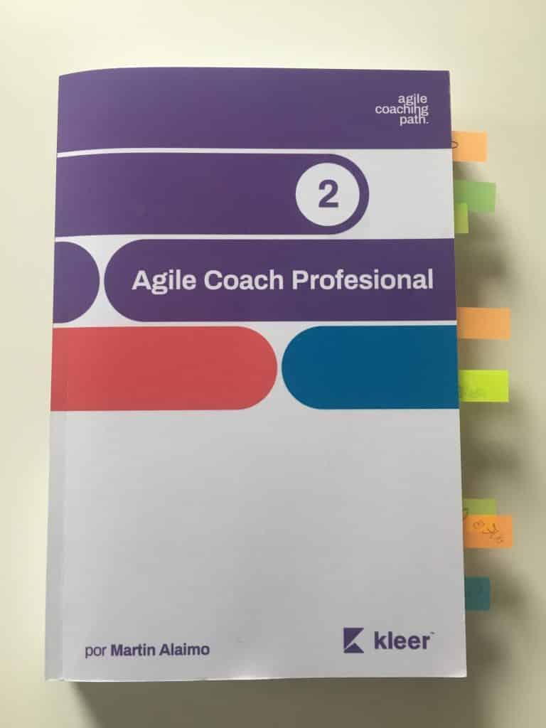 Agile Coach Professional Vol.#2 escrito por Martin Alaimo editorial Kleer